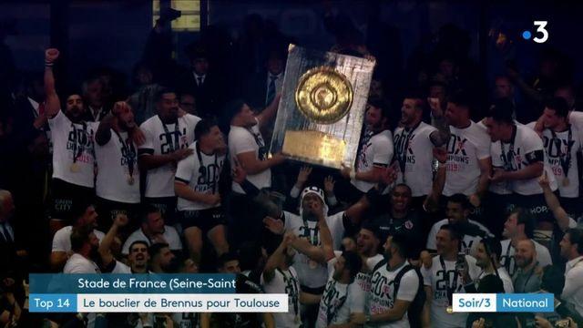 Top 14 : Toulouse s'offre son 20e bouclier de Brennus