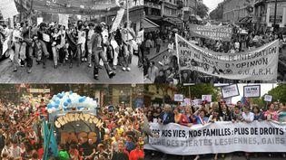 La marche des fiertés aura lieu à Paris, le 24 juin 2017, quarante ans après la première manifestationpour les droits LGBT. (AFP)