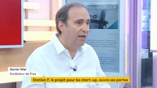 """Invité de Jean-Paul Chapeldans """":L'éco"""", vendredi30 juin, XavierNiel, fondateur de Free et de la nouvelle pépinière de starts-up """"Station F"""", explique comment il veut faire de Paris une place majeurepour les entrepreneurs. (FRANCEINFO)"""