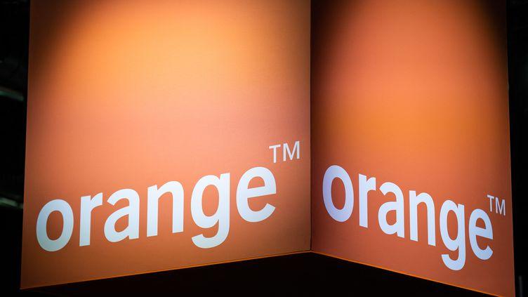 Le logo d'Orange. (XOSE BOUZAS / HANS LUCAS / AFP)