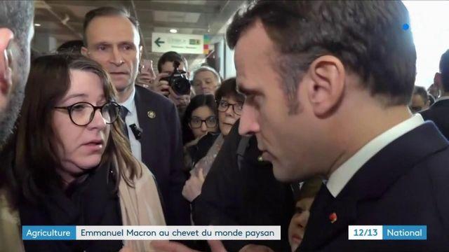 Salon de l'agriculture : Macron chahuté pour l'inauguration
