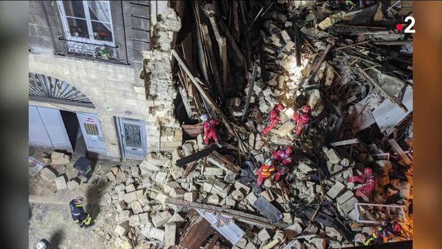 Bordeaux : trois habitants blessés après l'effondrement de deux immeubles