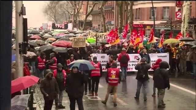 Loi travail : près de 150 rassemblements partout en France