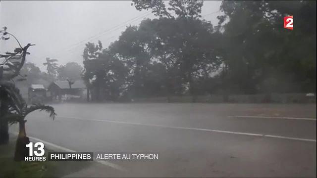 Philippines : le super typhon Haima fait quatre morts