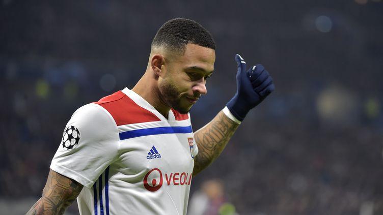 Memphis Depay (Ligue des Champions) (ROMAIN LAFABREGUE / AFP)