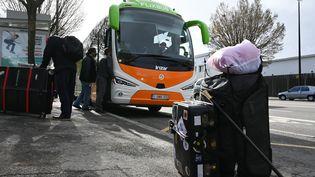 Un débart de bus à Nantes (illustration). (FRANCK DUBRAY / MAXPPP)