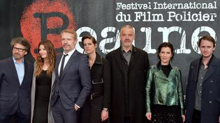 Le jury du 10e Festival de Beaune (2018)  (FRANCK CASTEL / MAXPPP )