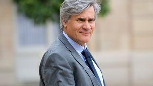 Stéphane Le Foll, le 8 juillet 2015, à la sortie de l'Elysée. (CITIZENSIDE/YANN BOHAC / AFP)