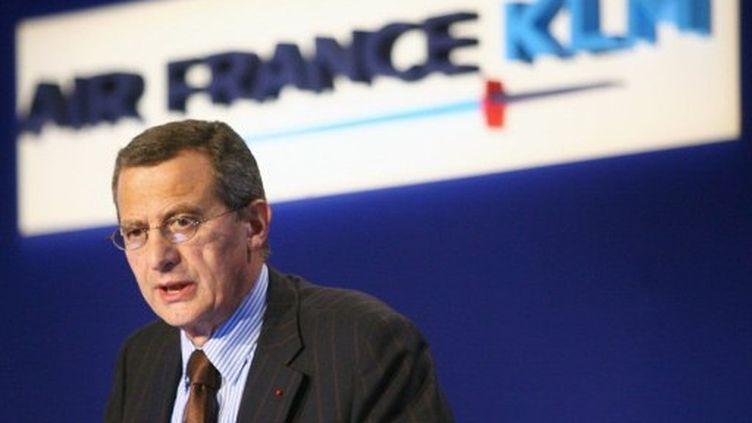 Jean-Cyril Spinetta, en 2006. (THOMAS COEX / AFP FILES / AFP)