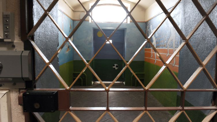 A l'intérieur de la maison d'arrêt d'Orléans (Loiret), en 2009. (ALAIN JOCARD / AFP)