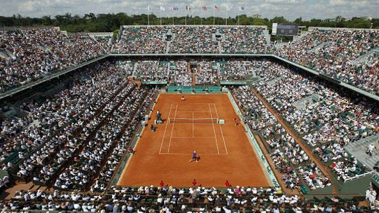 Le court Central de Roland-Garros