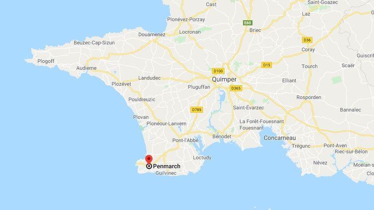 L'homme de 72 ans est accusé d'attouchements sexuels par une fille de 9 ans, dimanche dernier dans un camping de Penmarc'h (Finistère). (CAPTURE D'ECRAN GOOGLE MAPS)