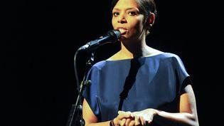 Laïka sur scène, donc.  (France3/Culturebox)