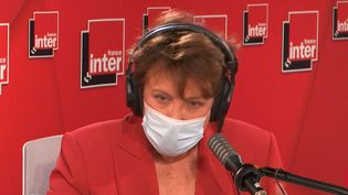 Roselyne Bachelot était l'invitée de France Inter mercredi 12 mai 2021. (FRANCE INTER)