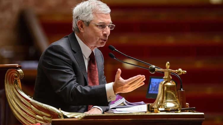 Le président de l'Assemblée nationale, Claude Bartolone, le 1er février 2013 au Palais-Bourbon, à Paris. (MAXPPP)