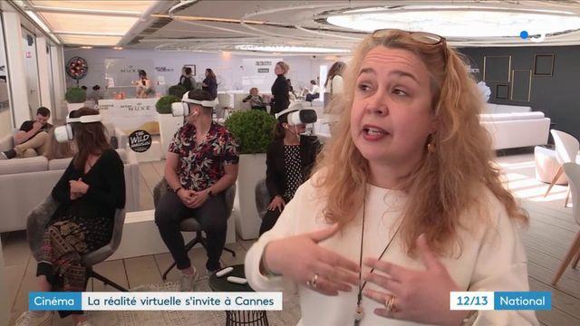 Cinéma : la réalité virtuelle s'invite à Cannes