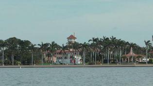 Donald Trump a rejoint sa luxueuse résidence de Mar a Lago, en Floride (France 2)