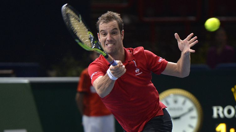 Le tennisman français Richard Gasquet  (MIGUEL MEDINA / AFP)