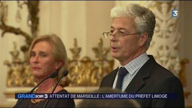 Henri-Michel Comet, le préfet du Rhône limogé. (FRANCE 3)