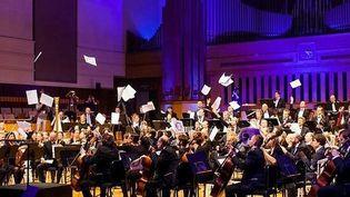 La partition numérique de l'Orchestre Philharmonique de Bruxelles  (DR)