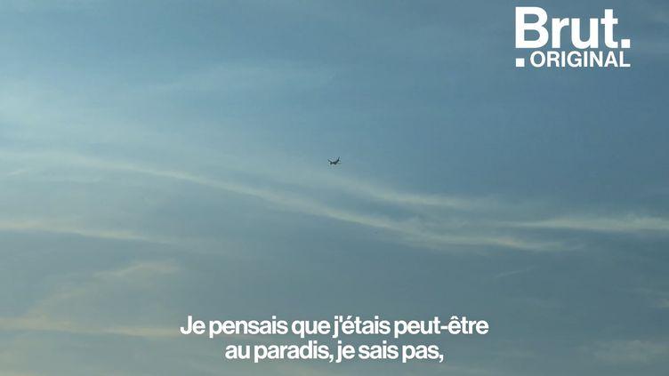 """VIDEO. """"Je pensais que j'étais peut-être au paradis après avoir vécu l'enfer"""" : il se confie sur ses premiers instants en France (BRUT)"""