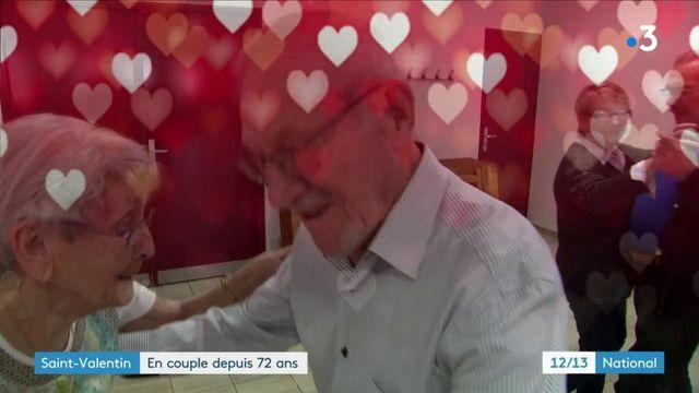 Saint-Valentin : des amateurs de danse en couple depuis soixante-douze ans