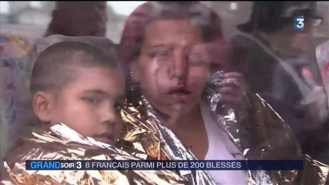 Bruxelles : 200 blessés