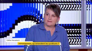 Céline Verzeletti (CGT) (FRANCEINFO)