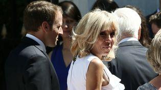 Emmanuel et Brigitte Macron (PANAYOTIS TZAMAROS / NURPHOTO)