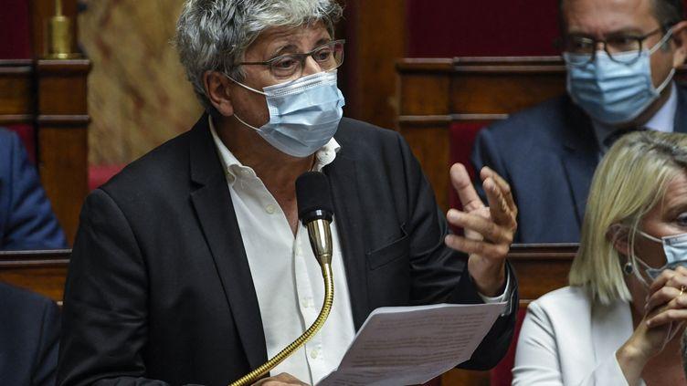 Le député La France insoumise Eric Coquerel souhaite avoir des garanties du gouvernementque le logiciel Pegasus ou un autre logiciel d'espionnage n'a ou n'est pas utilisé par les services français. (BERTRAND GUAY / AFP)