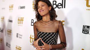 La réalisatrice franco-sénégalaise Mati Diop à la soirée de gala du Festival international du film de Toronto (TIFF), au Canada, le 9 septembre 2019. (CHRISTOPHER POLK/VARIETY/REX/SIPA / SHUTTERSTOCK)