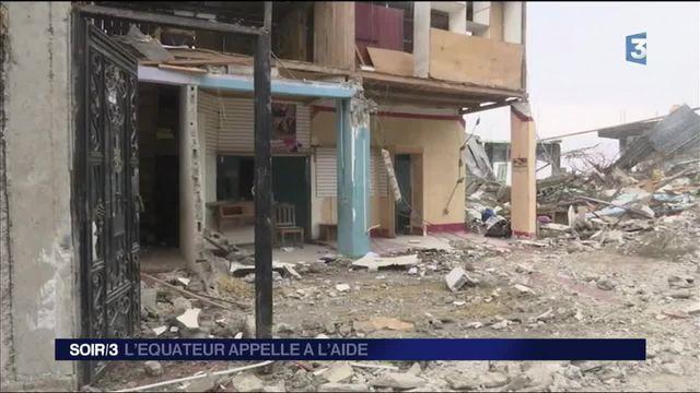 Équateur : le pays appelle à l'aide après le violent séisme