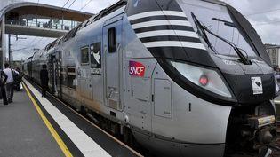 Un TER Bretagne en gare de Morlaix (Finistère). (MAXPPP)