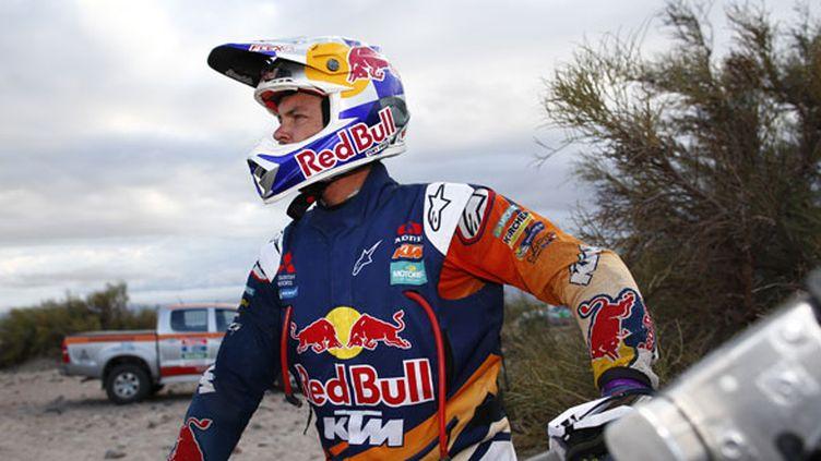 Le pilote KTM, Toby Price