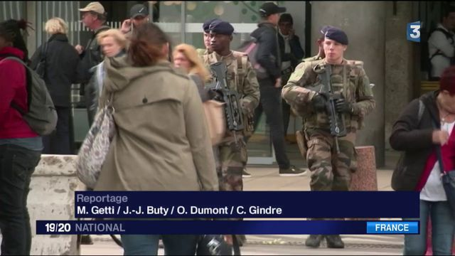 Sentinelle : les militaires font partie du quotidien des Français