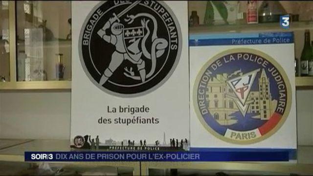 Vol de cocaïne au 36 quai des Orfèvres : dix ans de prison pour l'ex-policier
