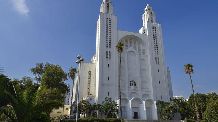Cathédrale du Sacré-Cœur construite à Casablanca en 1930par l'architecte Paul Tournon. Cet ancien sanctuaire catholique accueille aujourd'hui expositions et manifestations culturelles. (DEGAS JEAN-PIERRE / HEMIS.FR)