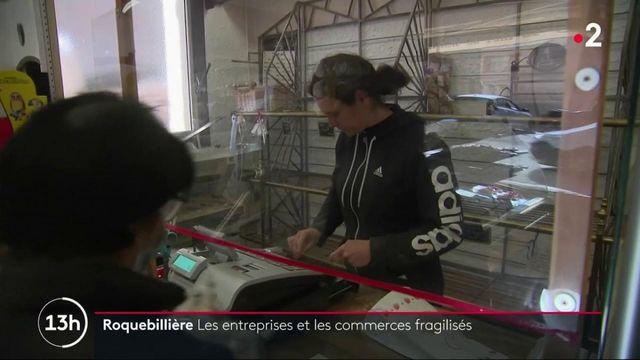 Tempête Alex : les commerces de Roquebillière sont fragilisés