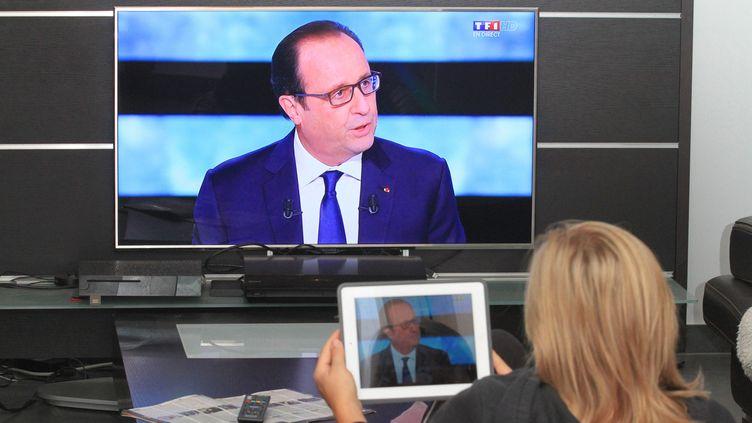 (François Hollande a rassemblé près de 8 millions de téléspectateurs © MaxPPP)