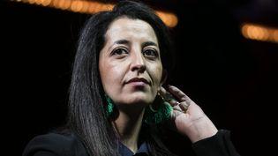 La députée européenne EELV Karima Delli, à Paris, le 22 mai 2019. (VINCENT ISORE / MAXPPP)