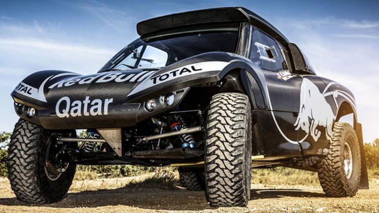 Le buggy de Nasser Al-Attiyah pour le Dakar 2014