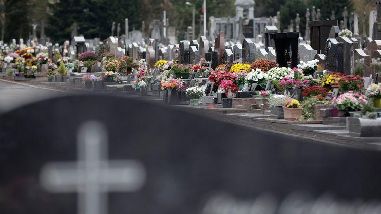 Un cimetière dans le Nord, à Ronchin (photo d'illustration) (MAXPPP)