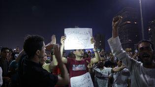 Des manifestants en Egypte le 20 septembre 2019 au Caire. (STR / AFP)