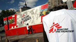 Une exposition de MSF organisée à Lille en 2007. (MAXPPP)