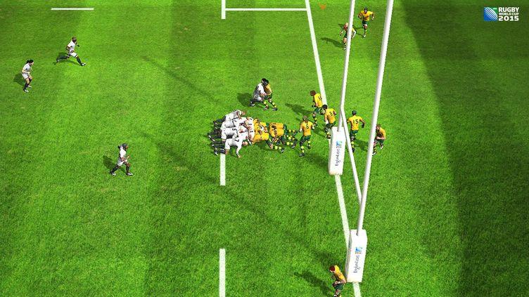 """Le jeu""""Rugby World Cup 2015"""" est disponible sur consoles et PC. (BIG BEN INTERACTIVE)"""