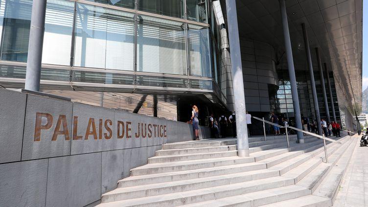 Le palais de justice de Grenoble (Isère), le 3 juillet 2018. (MAXPPP)