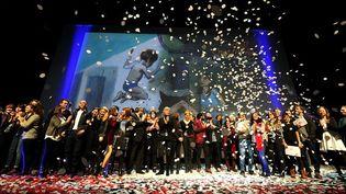 La 38 édition du festival du court métrage de Clermont-Ferrand a couronné une trentaine de films français et internationaux  (PHOTOPQR/LA MONTAGNE)