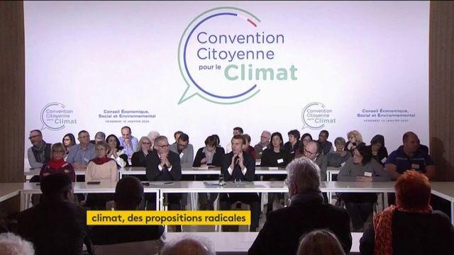 Convention citoyenne pour le climat : de s propositions radicales