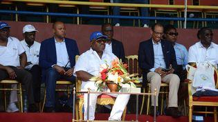 Ali Bongo (XAVIER BOURGOIS / AFP)