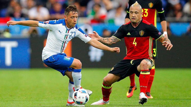 (La Belgique affronte l'Italie à Lyon lundi, les deux équipes disputent leur premier match de l'Euro ©Sipa)